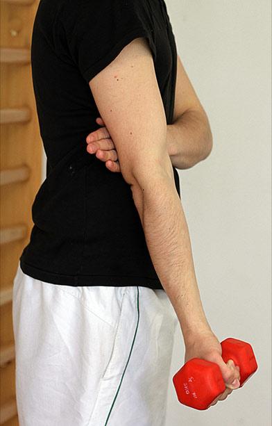 Tratament pentru leziunile articula?iei cotului
